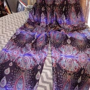 Love & Light Pants - New Beautiful Bohemian Harem Pants/OSFM
